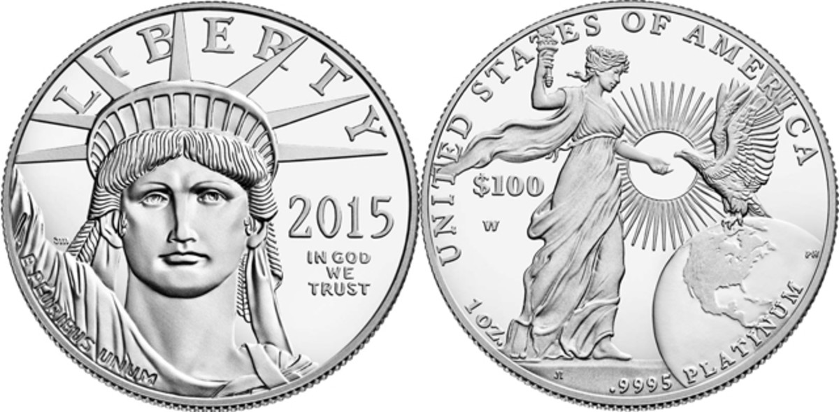 The 2015 platinum proof Eagle went on sale Dec. 3 and sold out in just minutes, making it a new record low for the proof series.