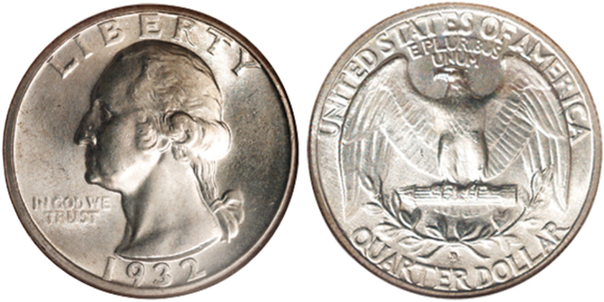 When dealing in high grade Washington quarters, more interest is paid to the scarce grade rarities than the key dates.