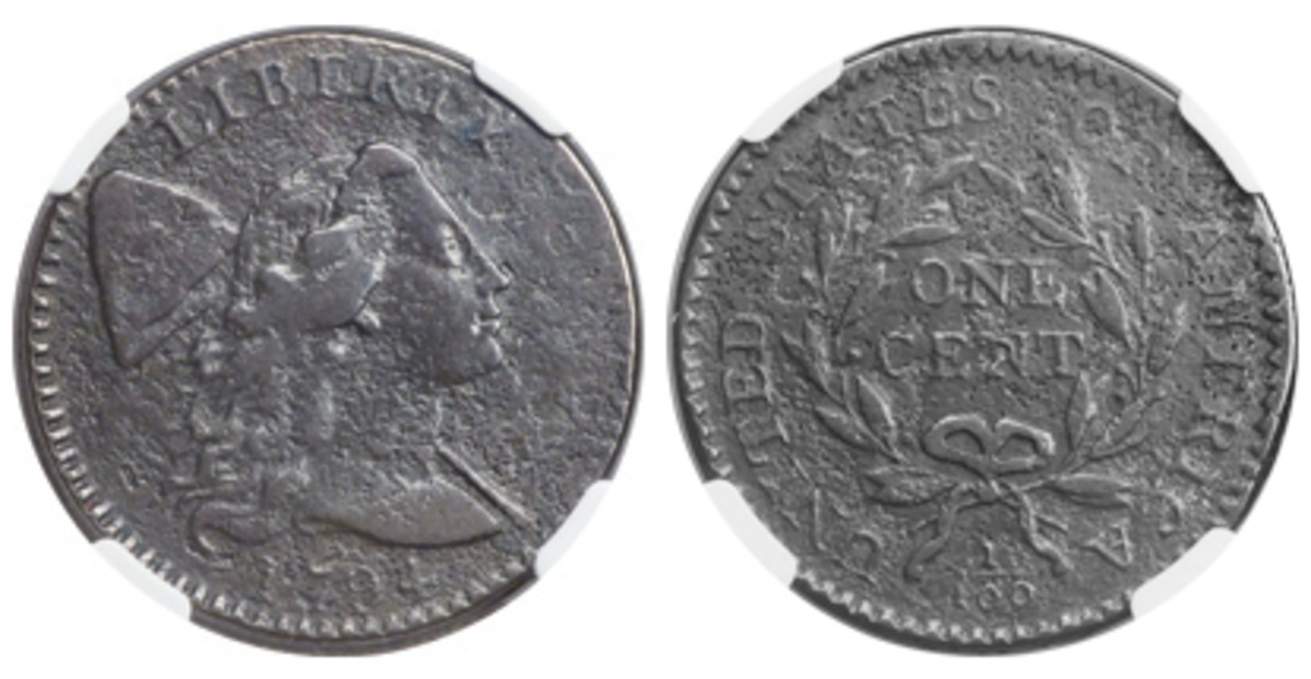 Another star of the Padula Collection is a 1794 S-37 cent NGC has certified VF Details.