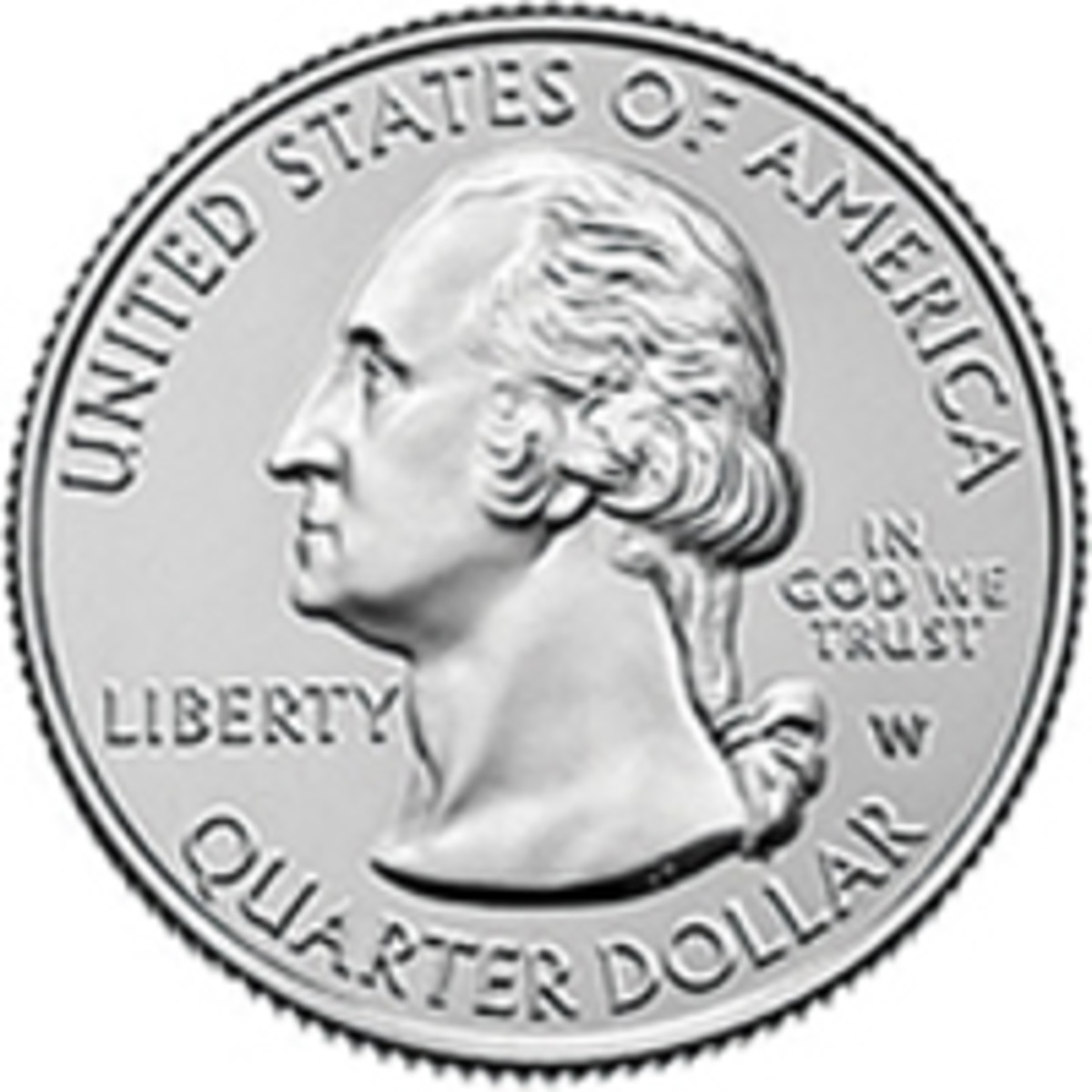 "New ""W""-mintmarked quarters from the U.S. Mint will be released randomly into circulation. (Image courtesy of www.usmint.gov)"