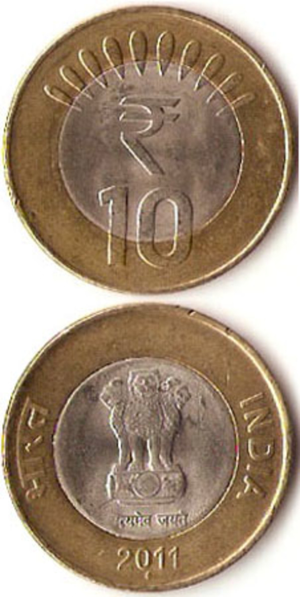 False rumors persist that India's 10-rupee coin has been demonetized.