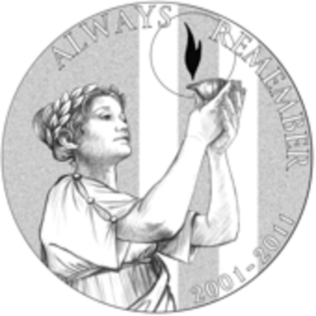 9/11 commemorative medal
