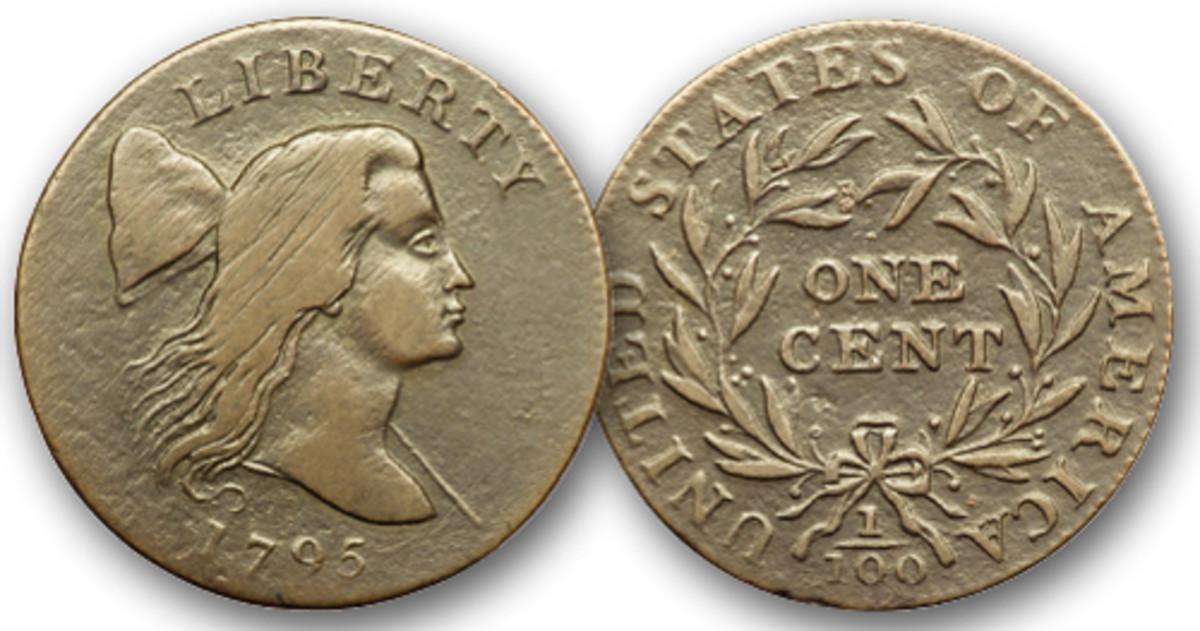 """The """"Jefferson Head"""" cents were struck by John Harper in early 1795."""