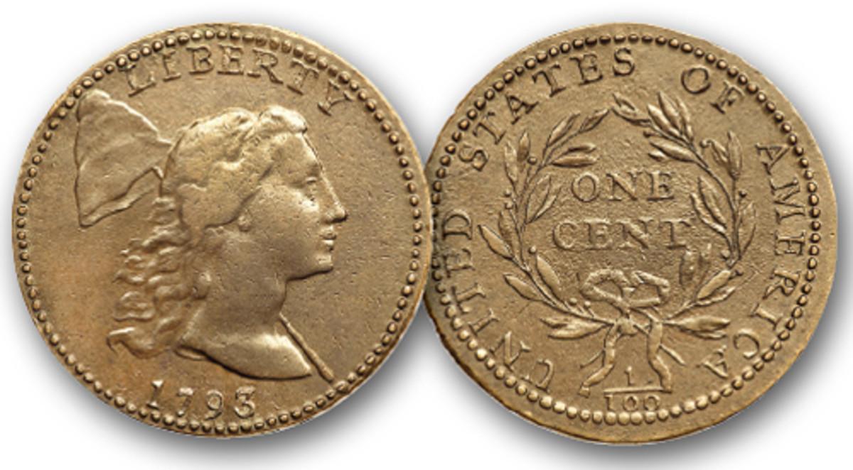 1793 Liberty Cap cent.