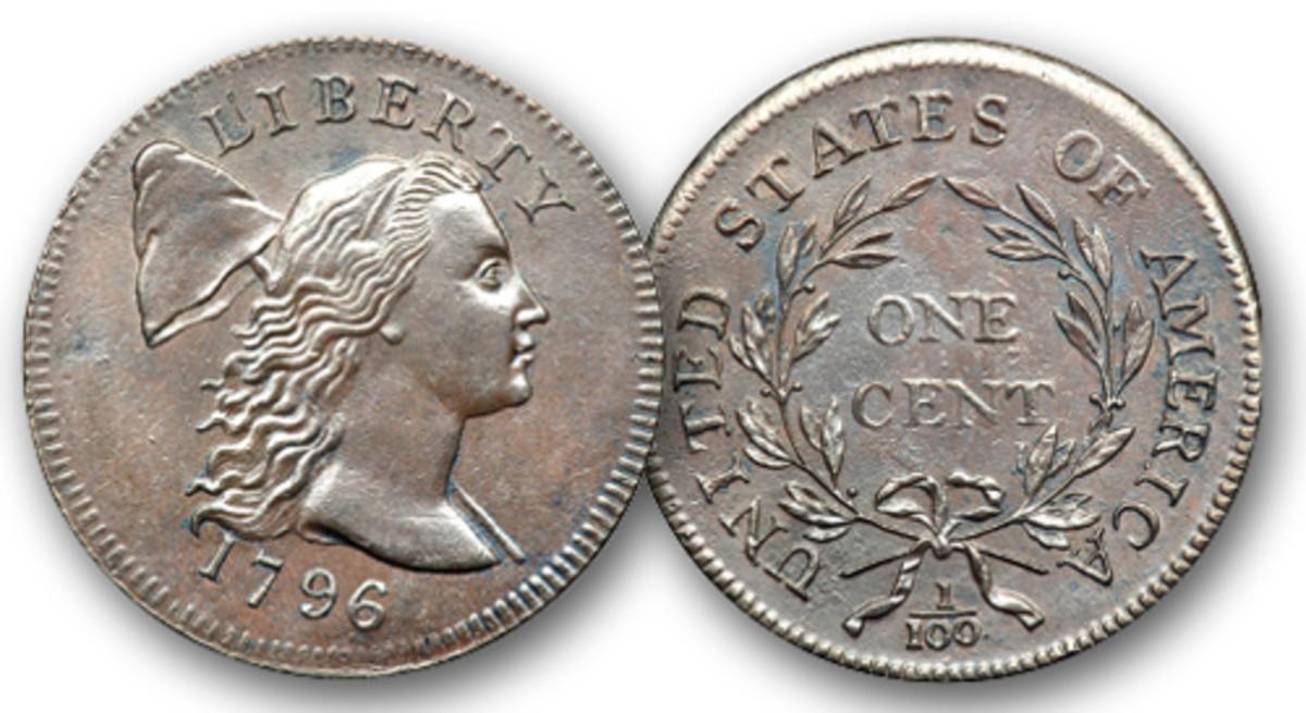 1796 Liberty Cap cent.