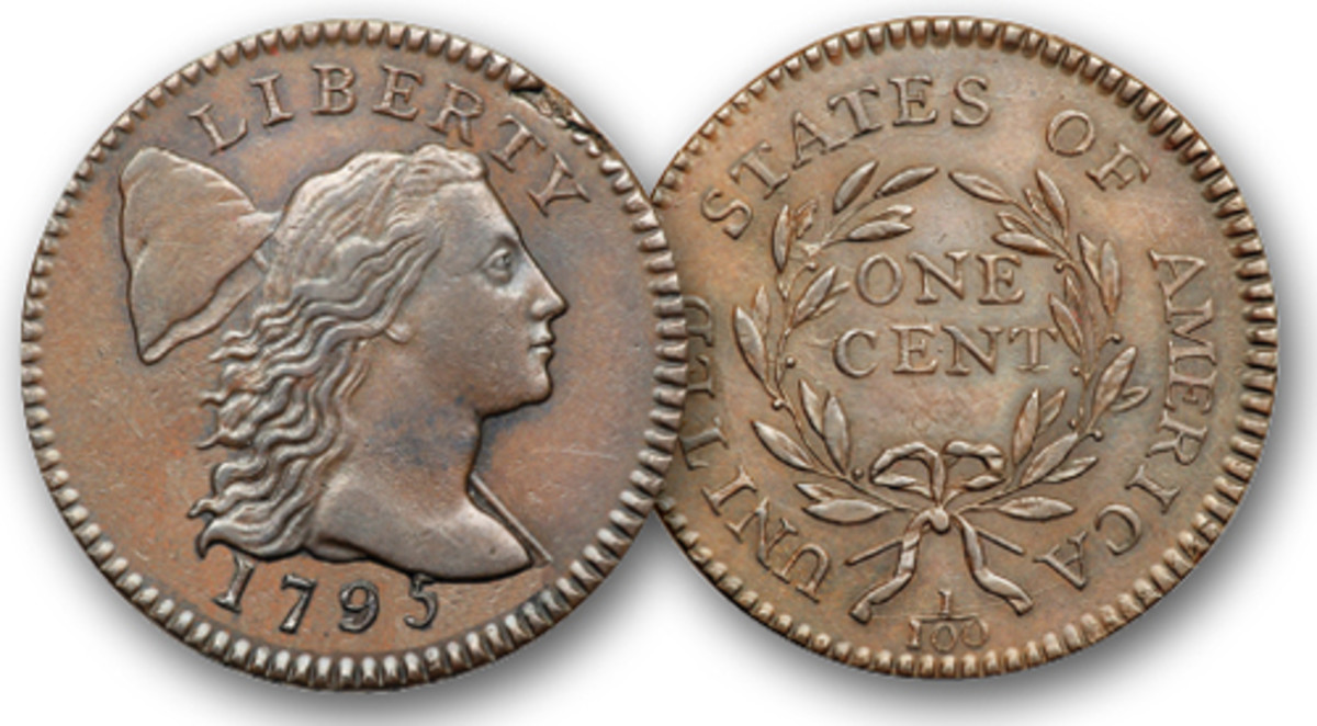 Liberty Cap cents were struck in 1795 and 1796.