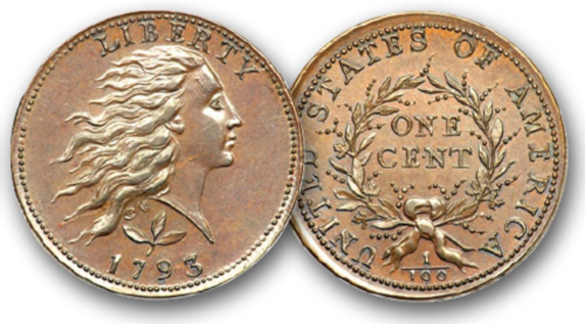 1793 Wreath cent.