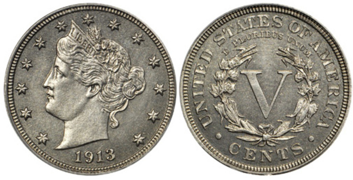 The finest 1913 Liberty Head nickel sold in a Stack's Bowers Galleries auction for $4.56 million in August.