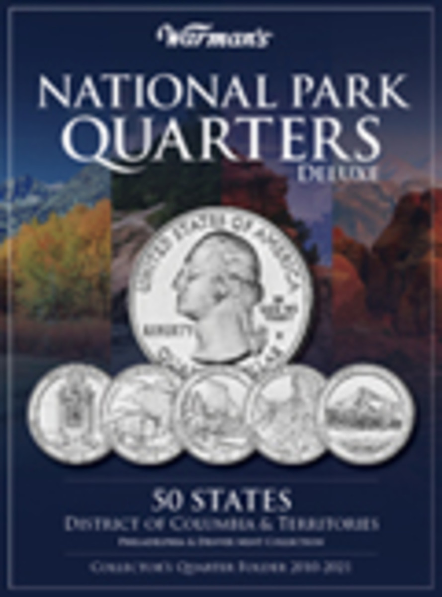 National Park Quarters Deluxe Collector's Coin Folder