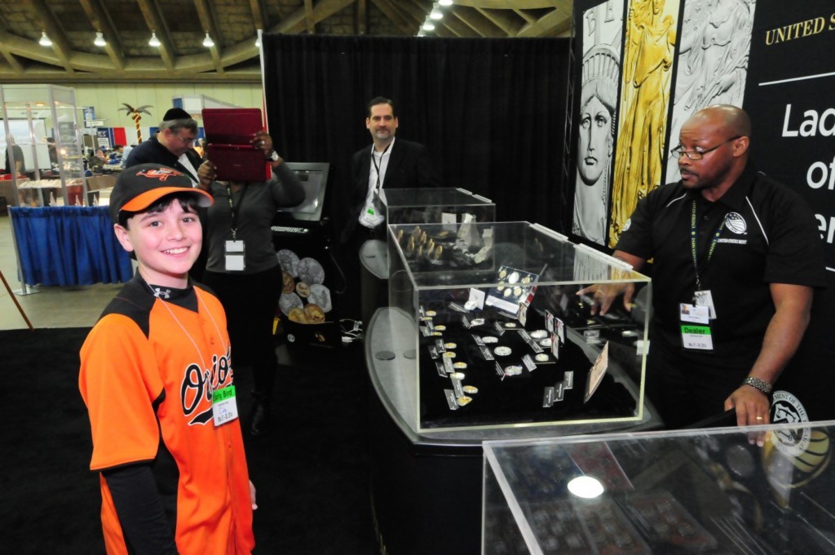 During the Baltimore Whitman Expo, youngsters will have a chance to try their hand at some fun activities in the Kid's Korner. (Image courtesy expo.whitman.com.)