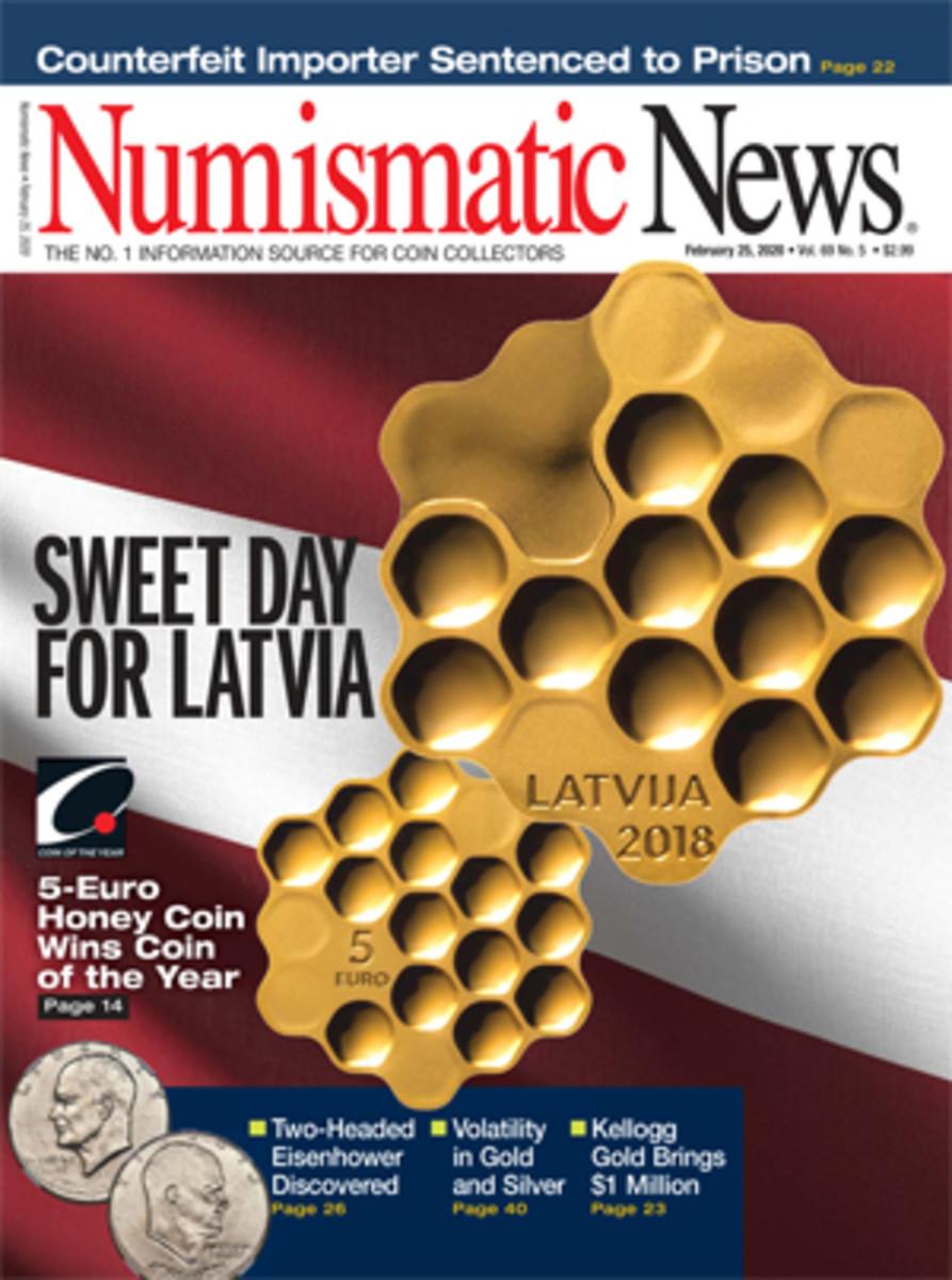 Numismatic News Feb. 25, 2020