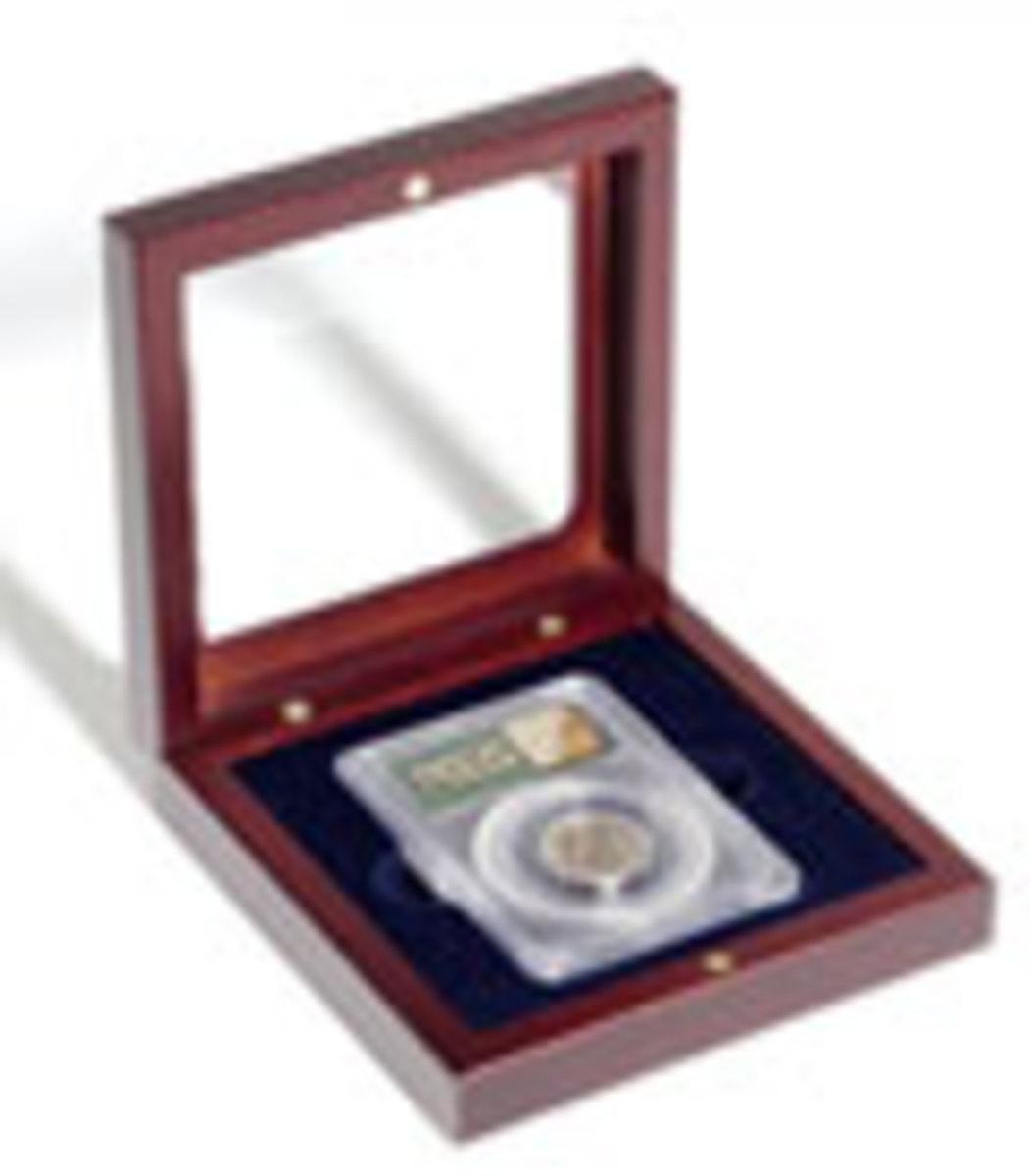 Single Slab Mahogany Box
