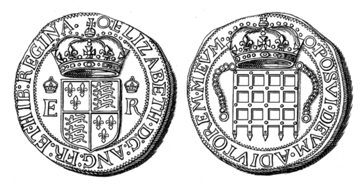 The 1601 8 testerns was equal to the Spanish dollar of 8 reales. The latter coin was universally used in trade in the New Hemisphere.