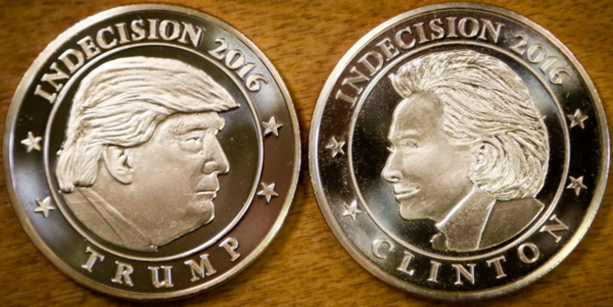 A flip of the Indecision 2016 token may decide who some voters may choose in the upcoming presidential election.
