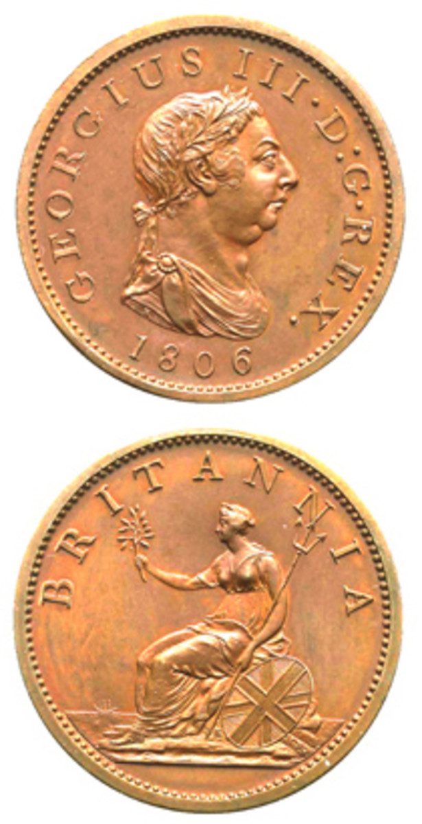 1806 penny. (Stack's Bowers image)