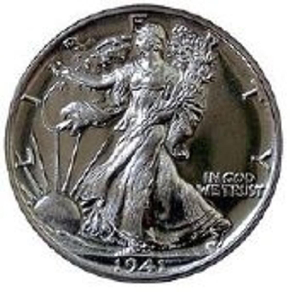 walking liberty coin