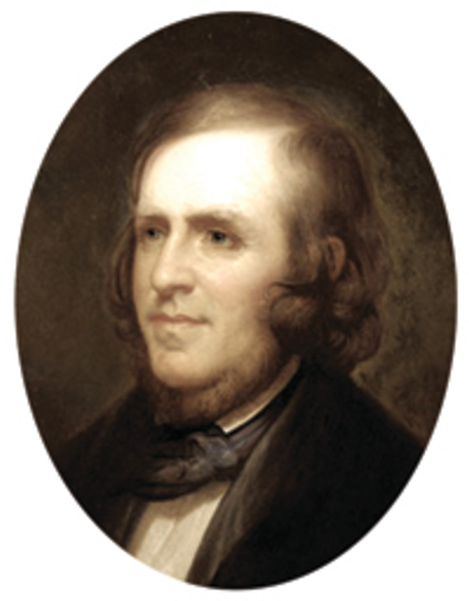 Chief Coiner Franklin Peale oversaw the striking of the 1848 CAL. quarter eagles.
