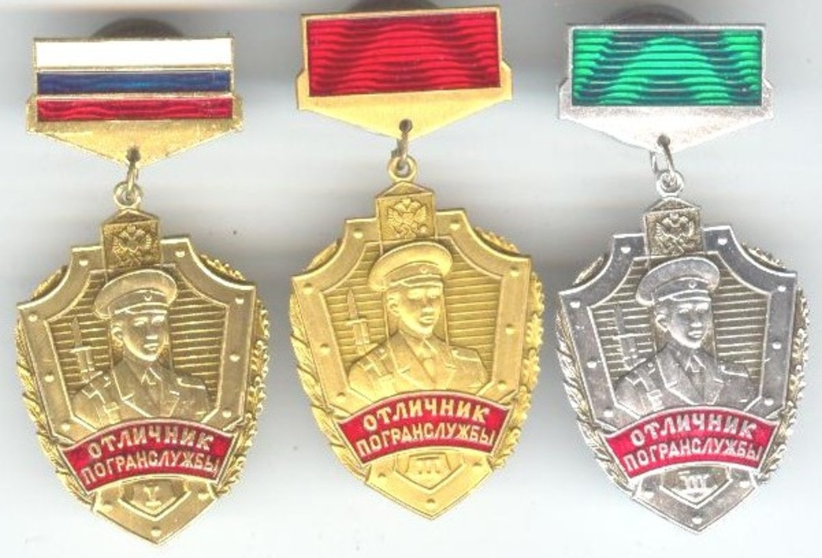 New Russian medals Old Style