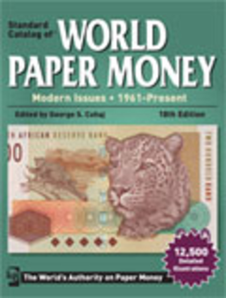 2013 Standard Catalog of World Paper Money - Modern Issues