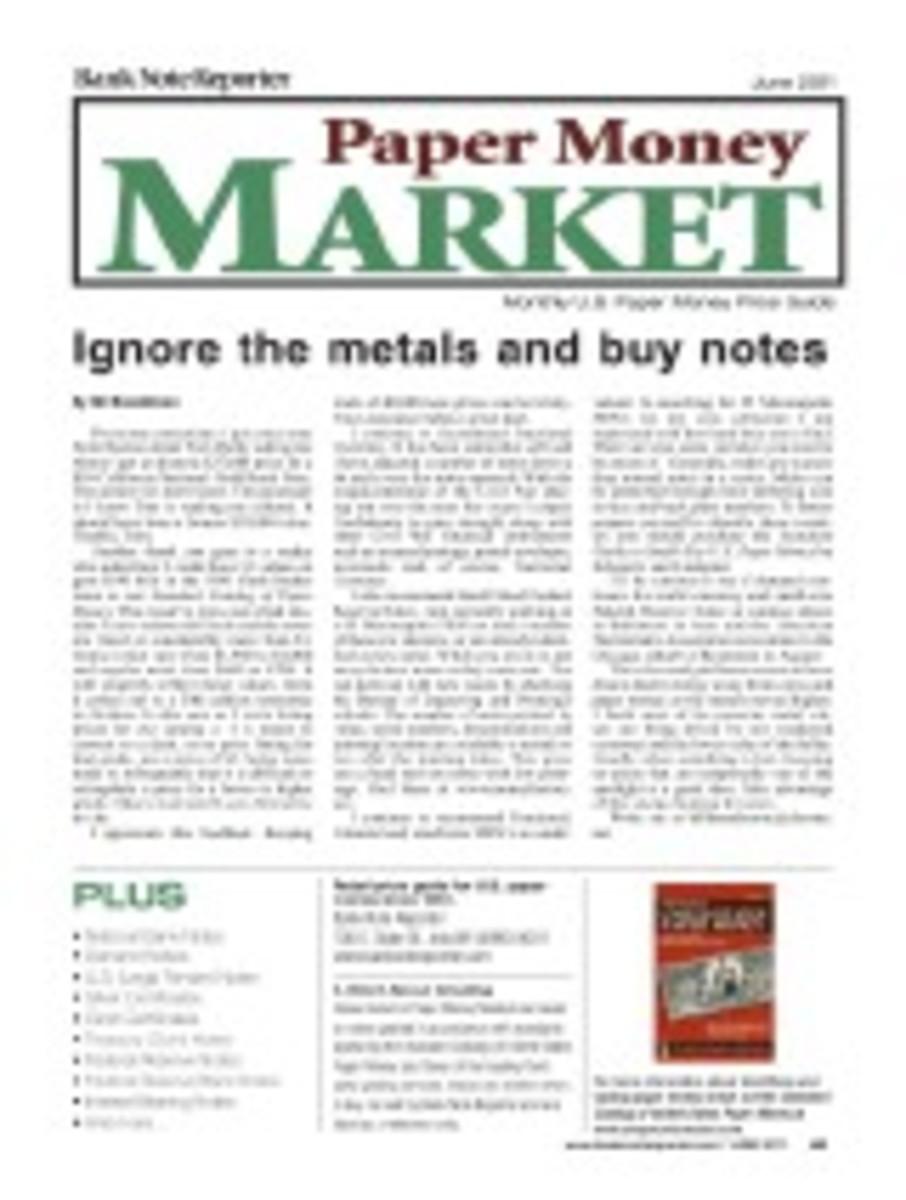 Paper Money Market eXpress June 2011 Issue
