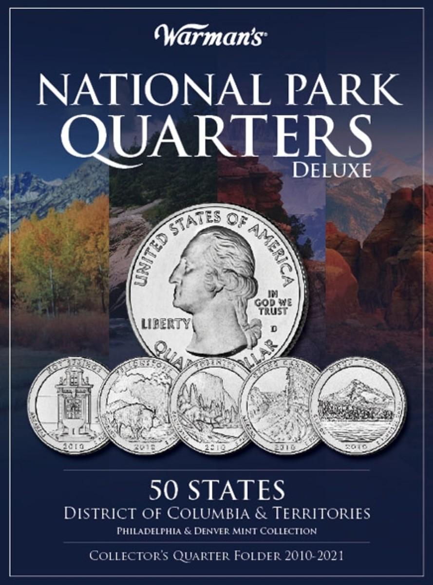 National Parks Quarters Collector's Folder