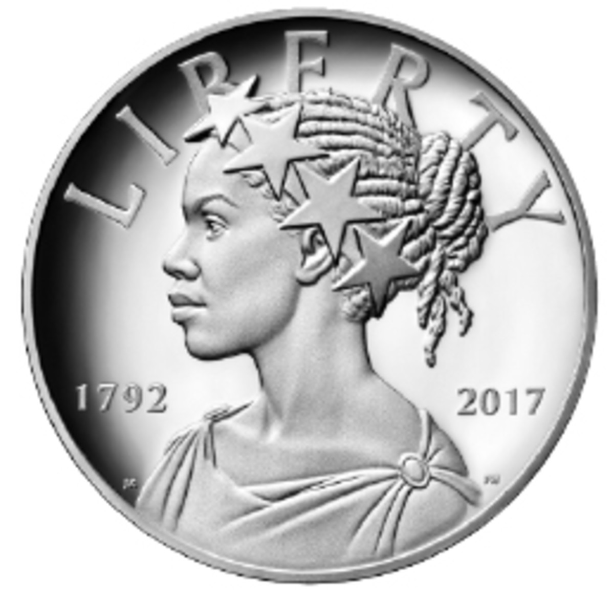 Common obverse design of the 225th anniversary medal set.
