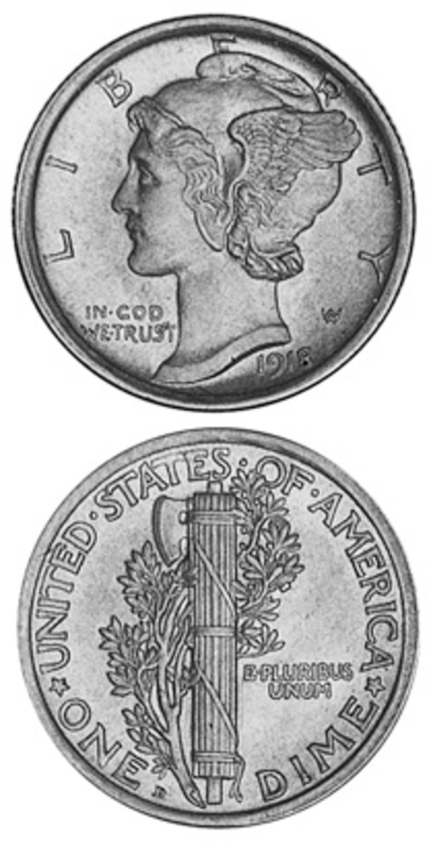 While lower-grade examples may still be readily available, the 1918-D Mercury dime in top grades is commanding prices that puts it among the top few regular dates in the series.