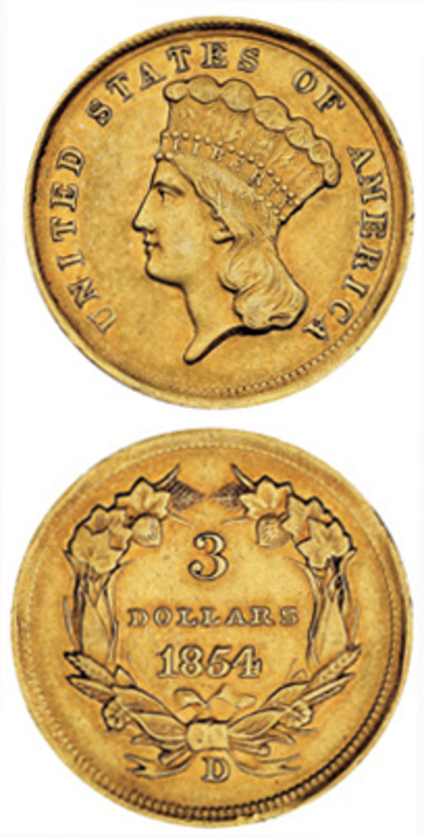 Gold $3s Vert