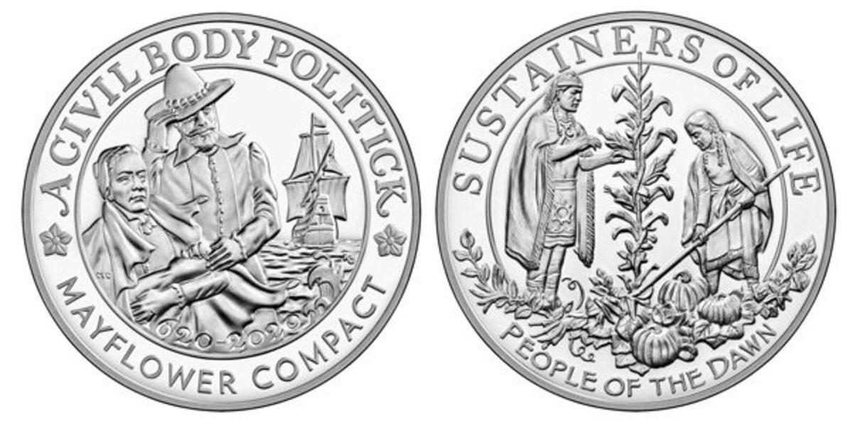 The two silver products on sale Nov. 17 are the silver proof coin and medal set and the silver reverse proof medal.