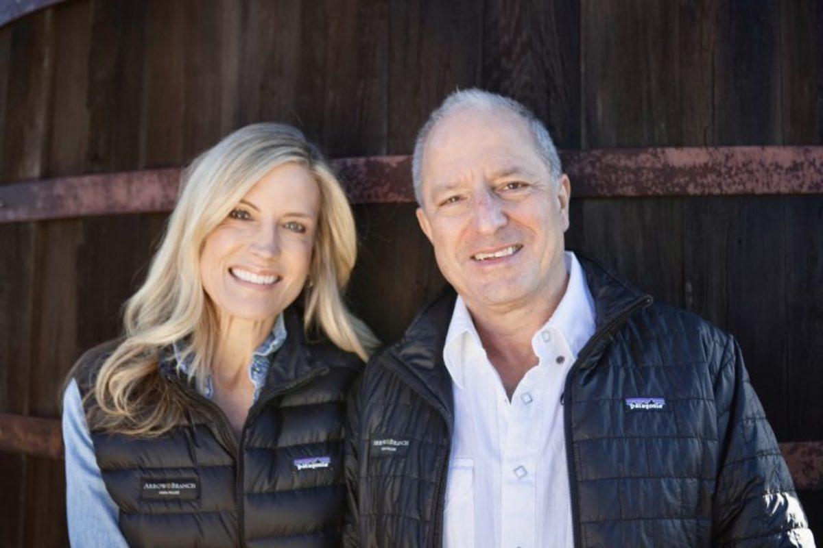 Arrow&Branch proprietors Seanne and coin dealer Steven Contursi. (Images courtesy Arrow&Branch Estate Vineyard.)