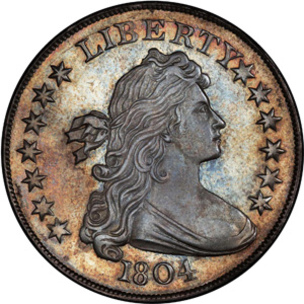 1804 dollar, courtesy Stack's Bowers Galleries.