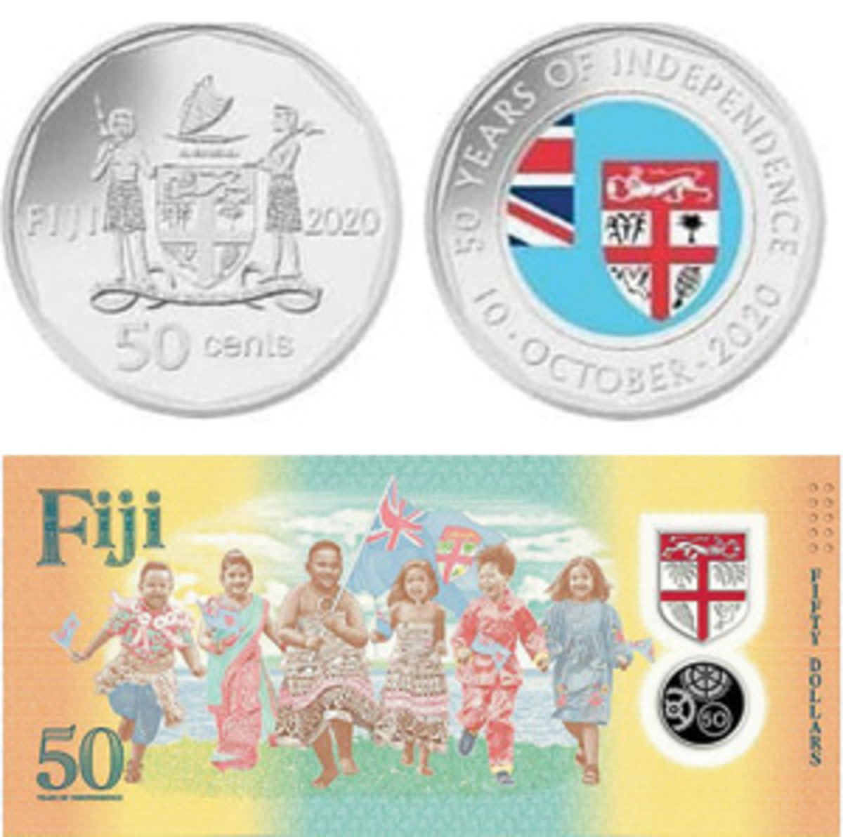 Fiji is one of a growing number of countries that are simultaneously issuing commemorative coins and bank notes to mark the same event.