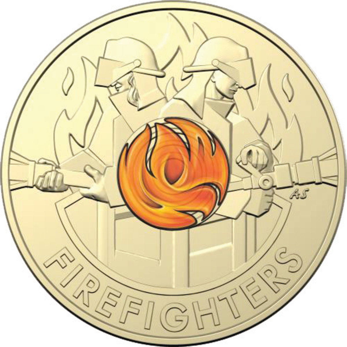 Australia is raising money while marking  a current even with its recently  issued $2 Wildfire coin.