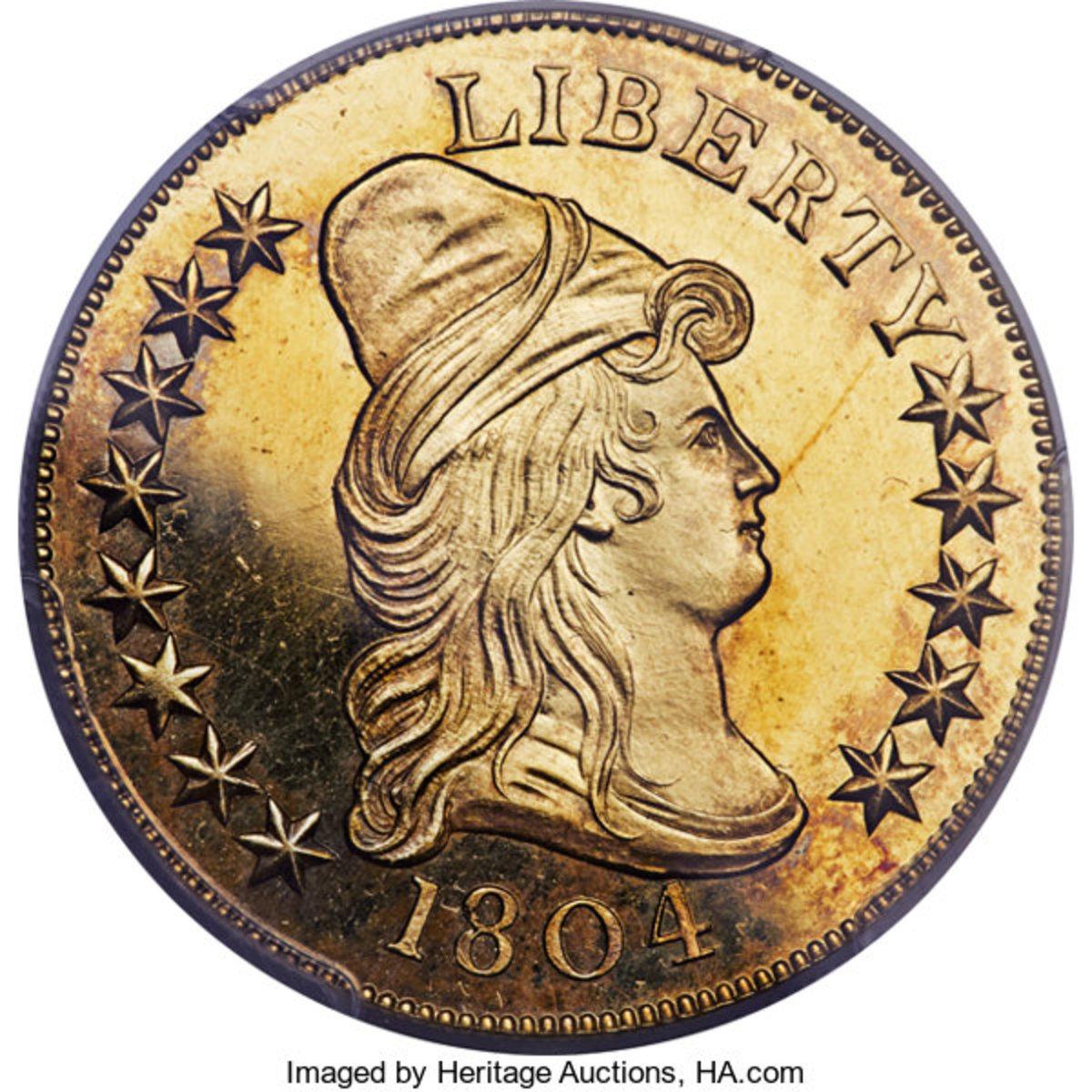 1804 Plain 4 Eagle.