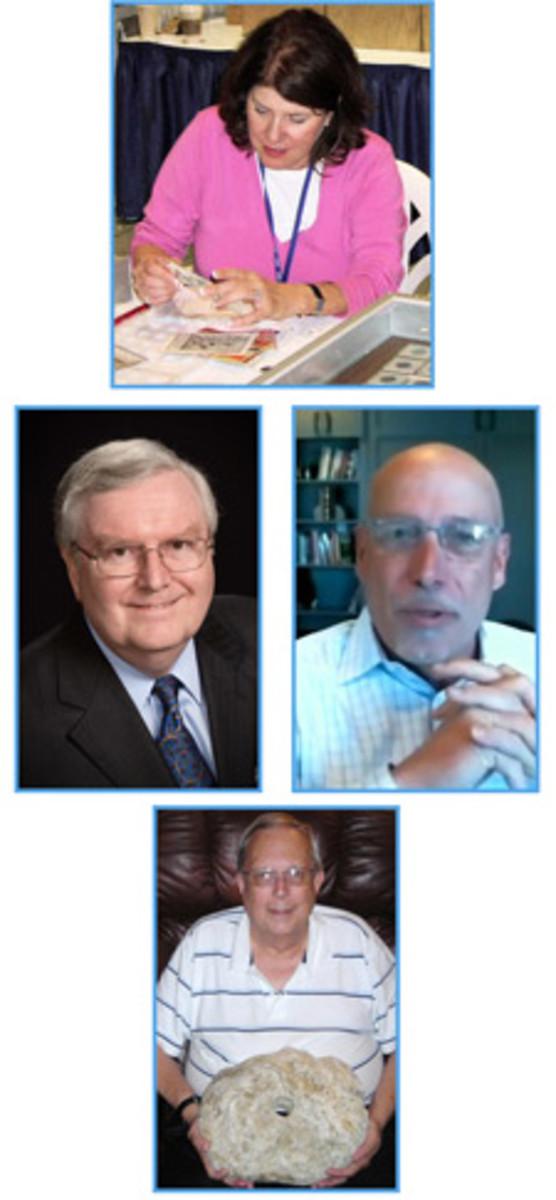From top: Candace DeMarco Kagin, Robert D. Leonard (left), Matt O'Connor and Charles J. Opitz.