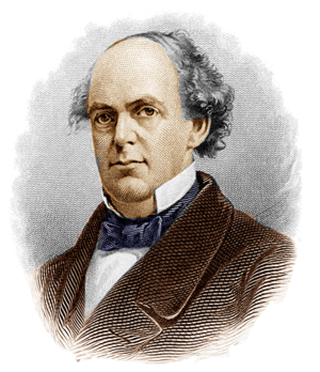 Treasury Secretary Salmon P. Chase