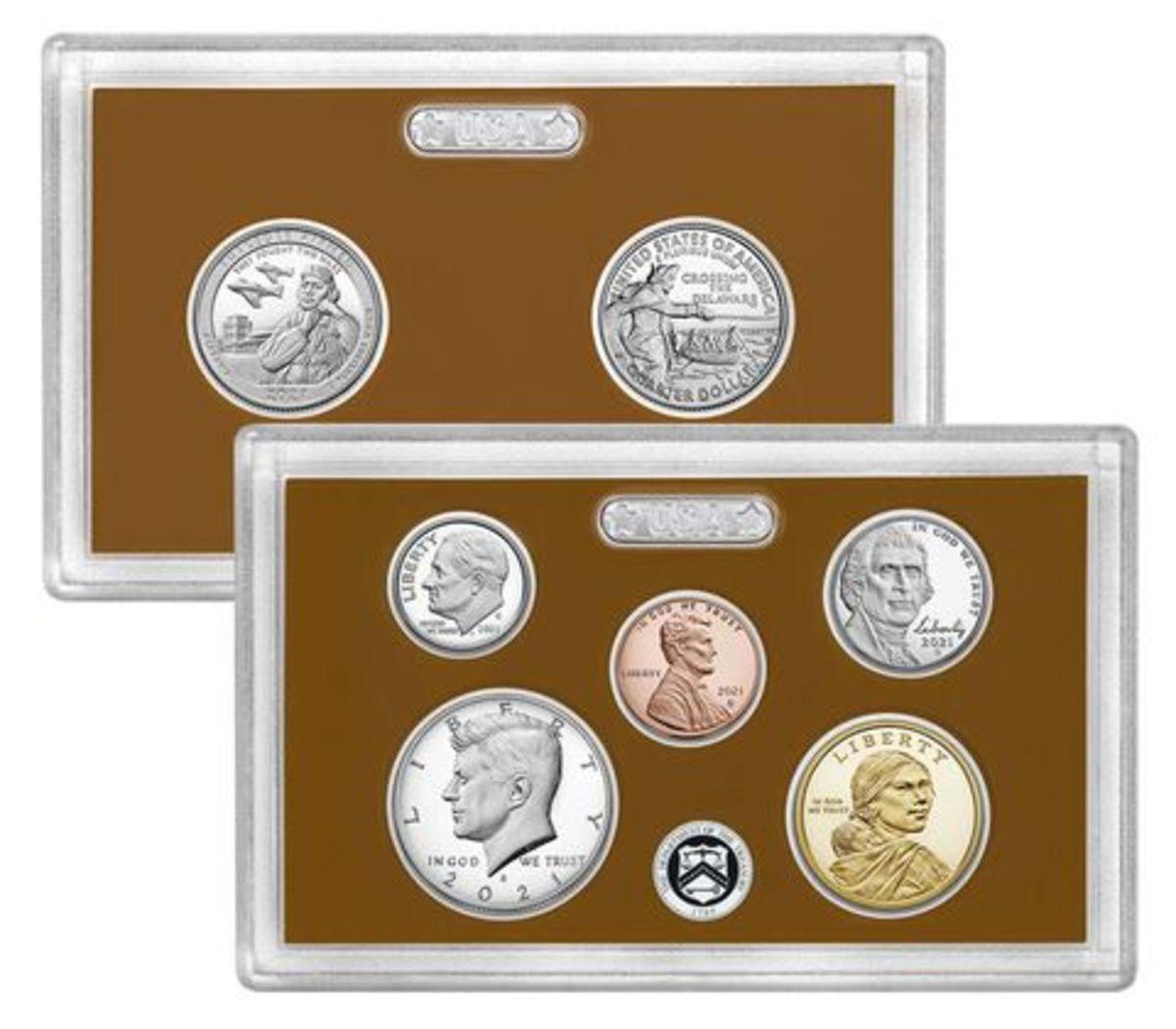 2021 U.S. Mint proof set. (Image courtesy U.S. Mint.)