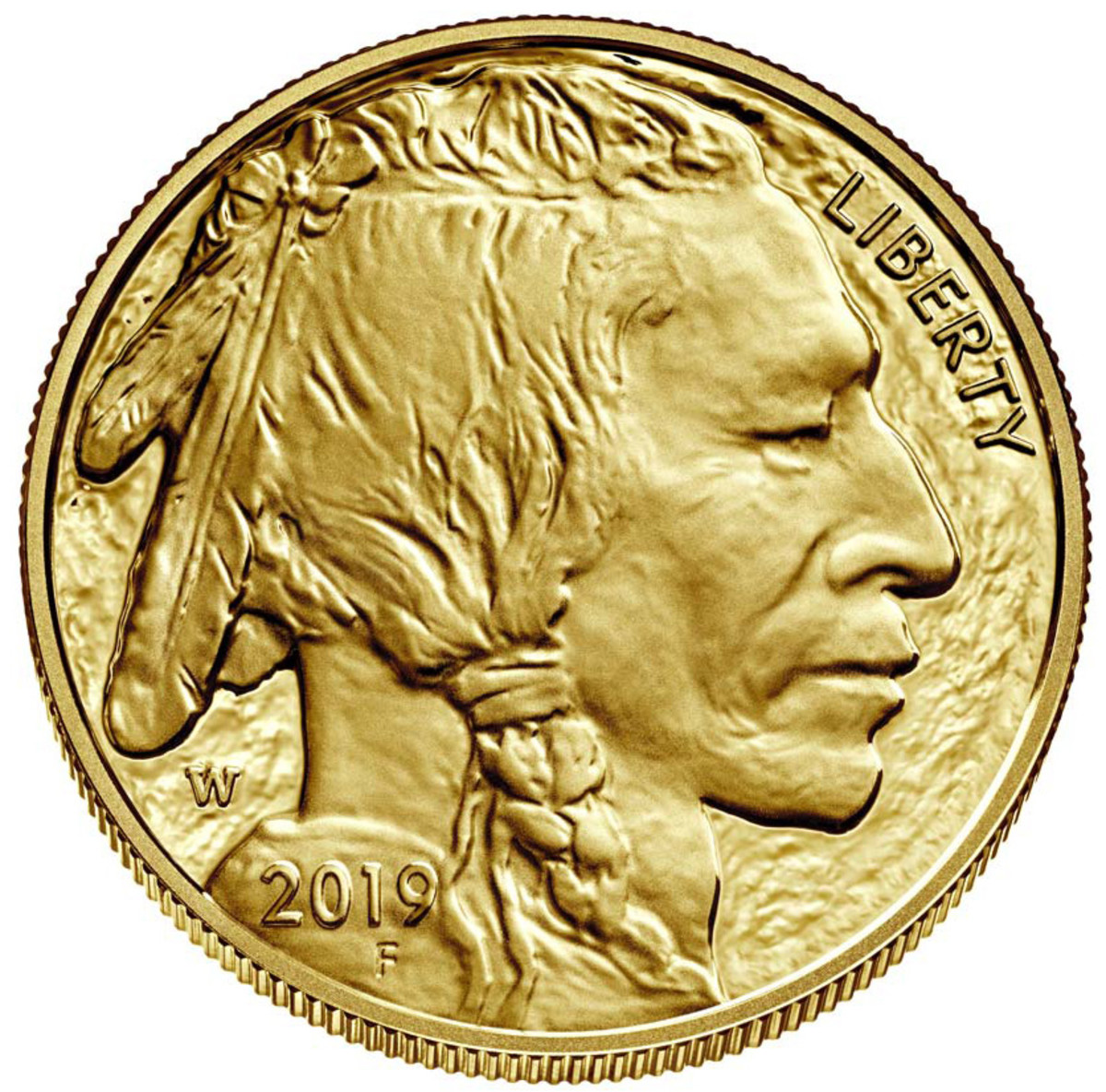 American Buffalo gold coin. (Image courtesy U.S. Mint.)