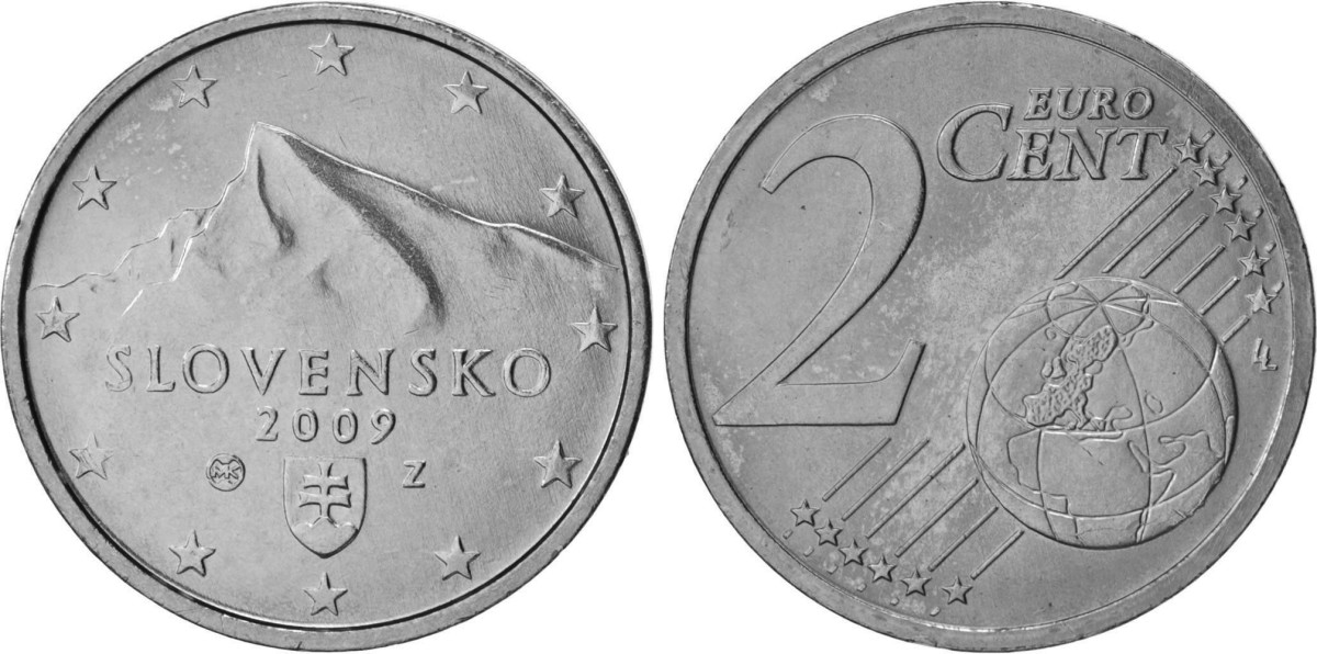 Slovakia 1- and 2-cent euro coins may soon be a thing of the past as the nation joins several other European Union countries in discontinuing these two low value denominations.