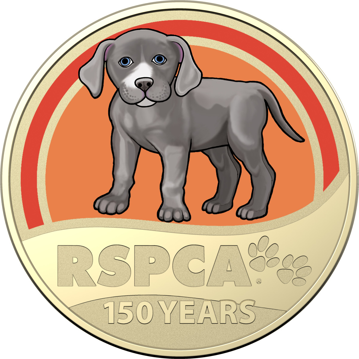 These RSPCA coins remind us to give a little extra love to all our furry-and not so furry- friends