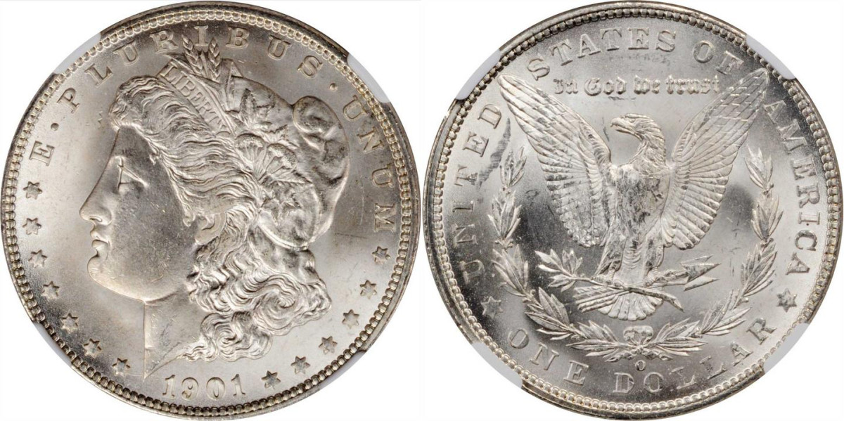 1901-O Morgan dollar (All images courtesy of Stack's-Bowers)
