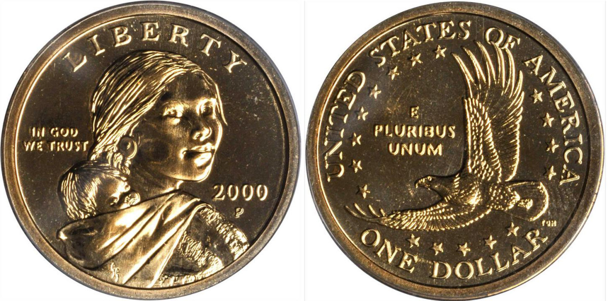 2000 Sacagawea dollar