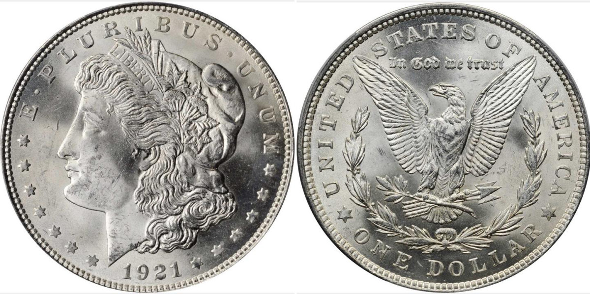 1921 Morgan dollar. (Courtesy of Stack's-Bowers)