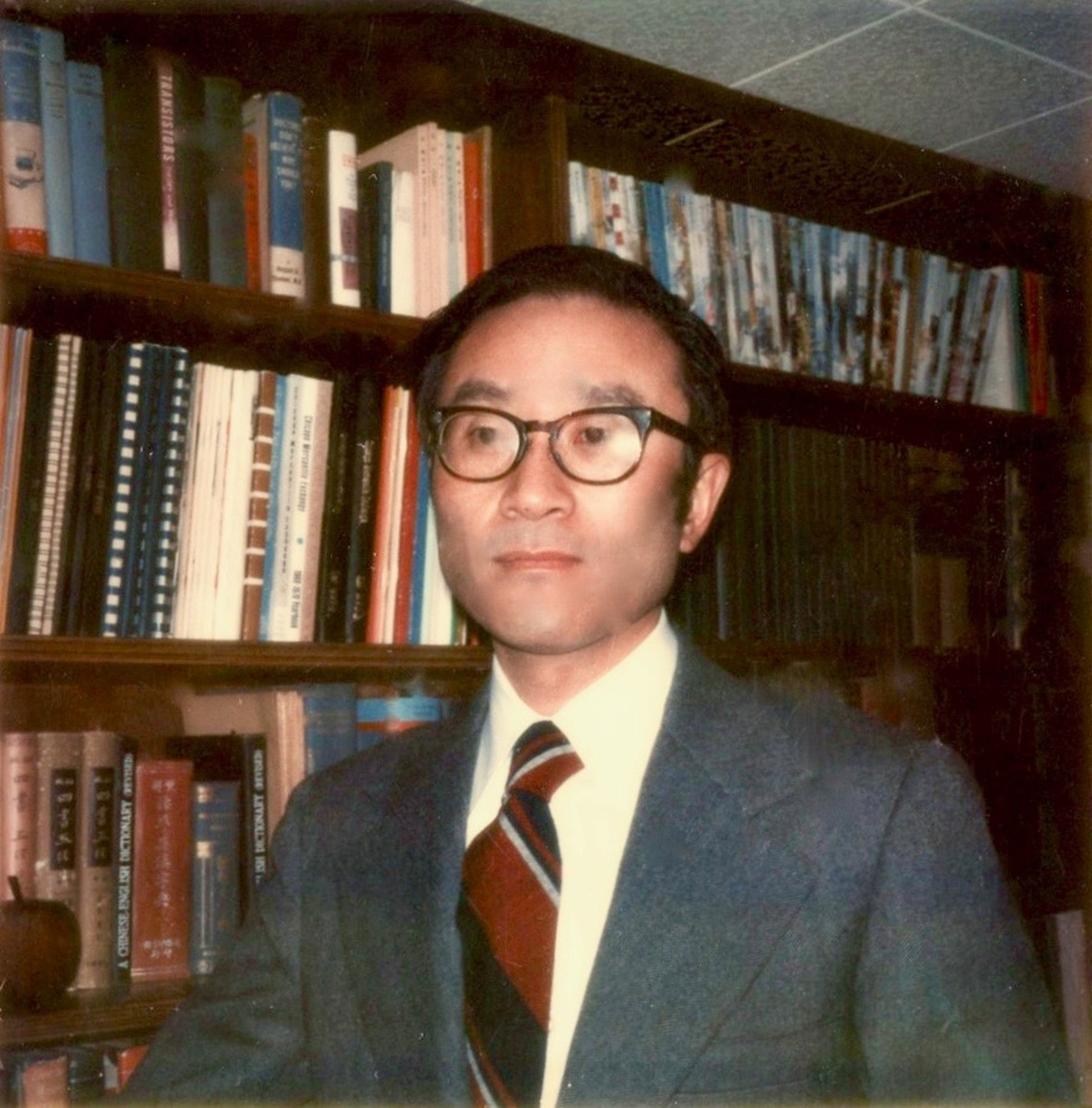 Nelson Chang clearly understood the advantage in having an extensive numismatic library.