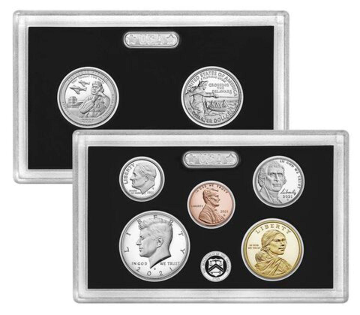 2021 silver proof set. (Image courtesy U.S. Mint.)