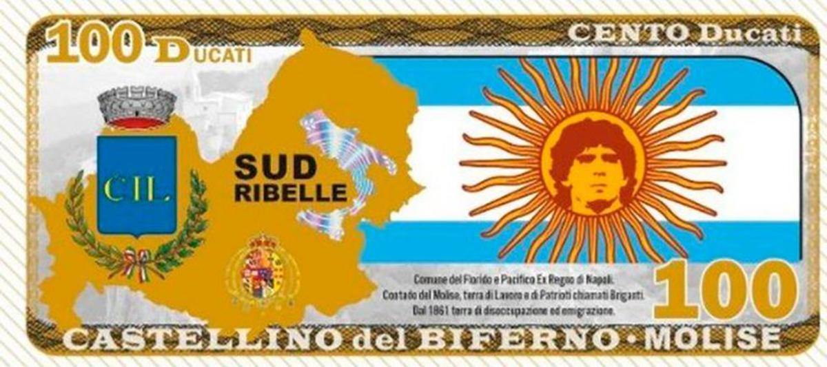 The Italian town of Castellino del Biferno has been issuing its own money for immigrants to use until the local government is reimbursed by the federal government.