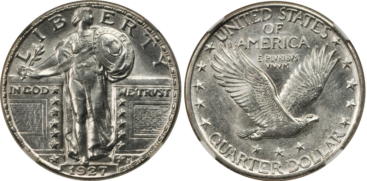 1927-D Standing Liberty quarter (Courtesy of Stack's-Bowers)