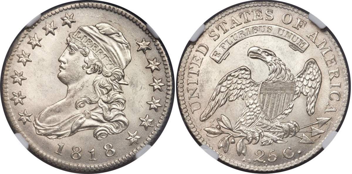 1818 Capped Bust
