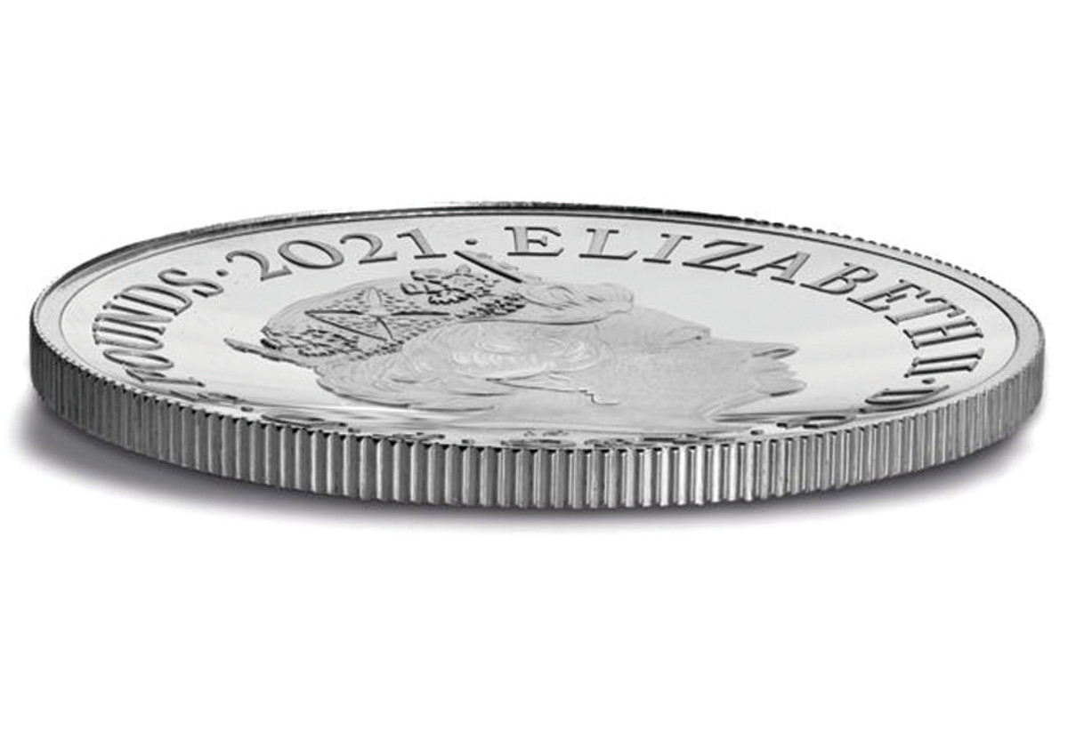 Ideal for commemorating a domed building, the 150th Anniversary Royal Albert Hall £5 coins are the Royal Mint's first domed release.