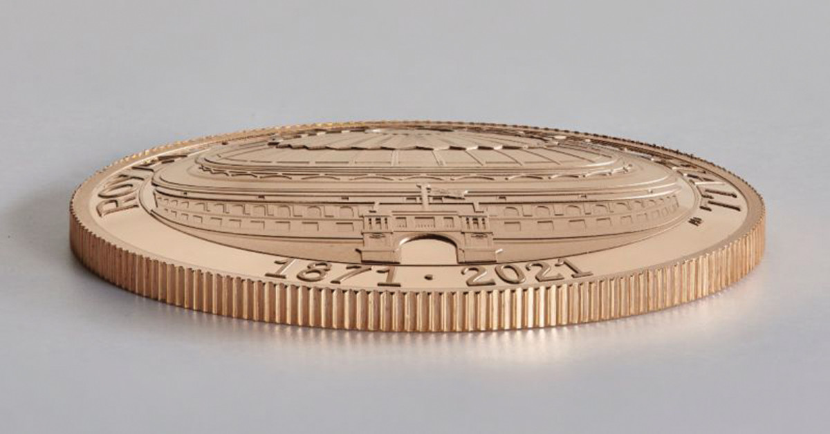 The high relief design by Anne Desmet gives the outer dome of the Royal Albert Hall a sense of dimension deserving of its storied past.